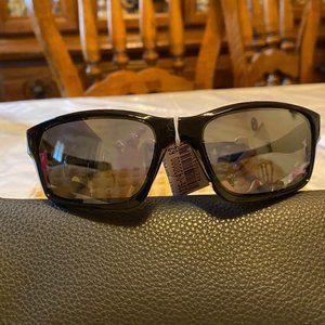 Oakley Polarized Black Chain Link Sunglasses NWT